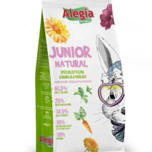 JUNIOR NATURAL ALEGIA 650G