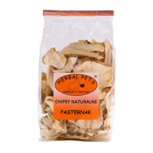 CHIPSY NATURALNE – PASTERNAKA HERBALPETS 125G