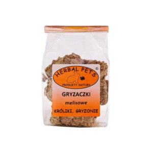 GRYZACZKI MELISOWE HERBALPETS 140G
