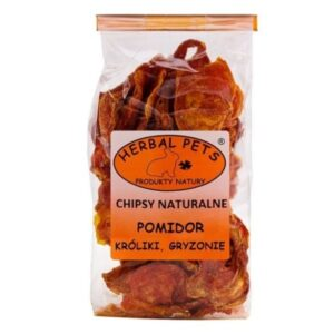 CHIPSY NATURALNE BANAN HERBALPETS 75G